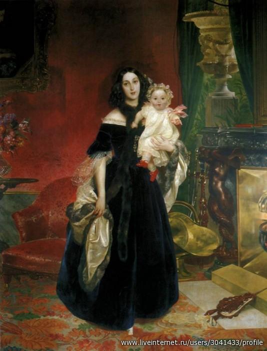 Карл Брюллов Портрет Марии