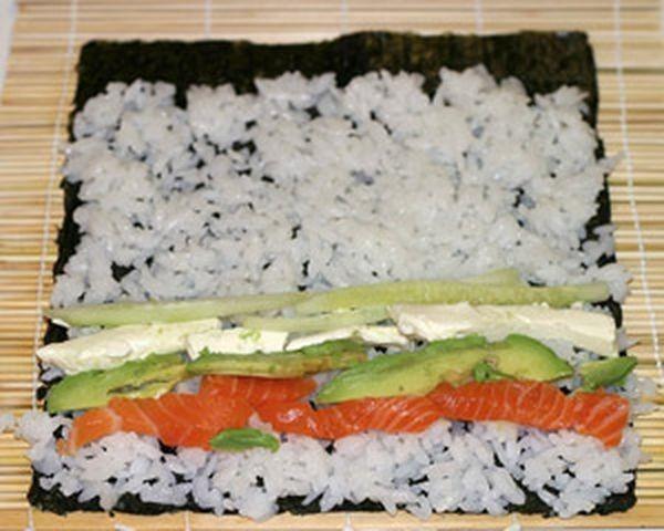 Роллы и суши в домашних условиях начинки