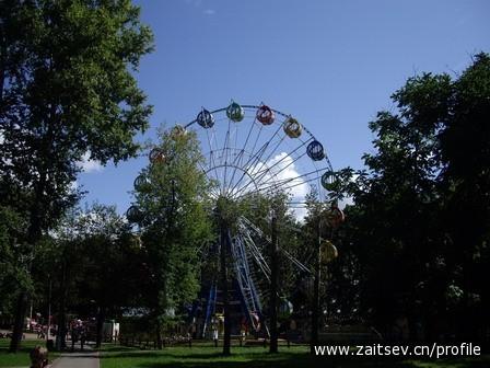 Мытищи Парк культуры и отдыха Чертово колесо