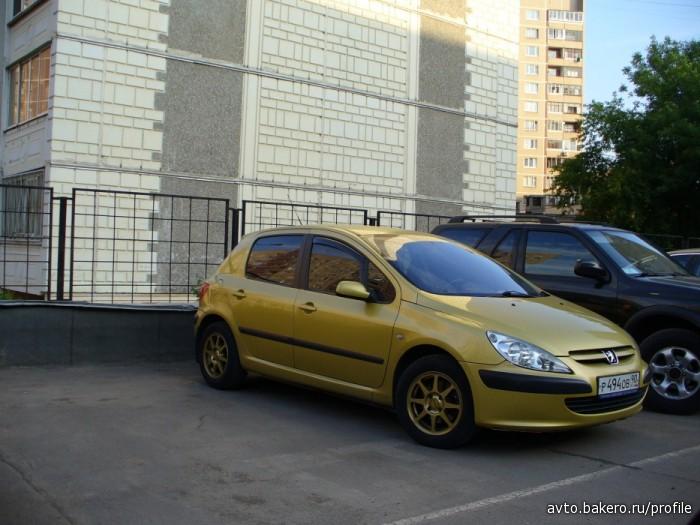 Автоинструктор Peugeot 307 avto.bakero.ru