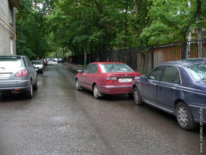 Авария во дворе Москва zaitsev.cn Дмитрий Зайцев