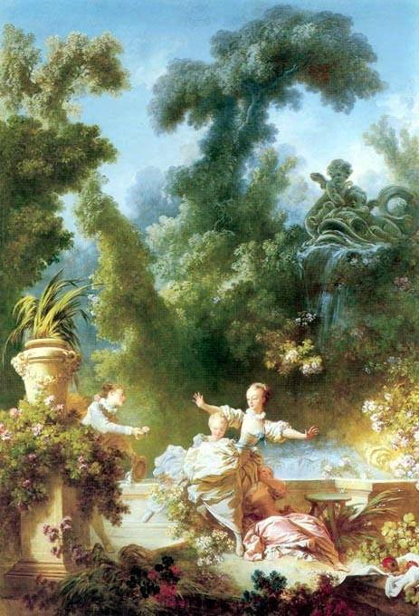 """""""Погоня"""" 1765 Лувр, Париж"""