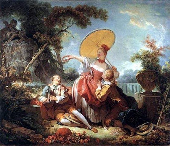 """""""Музыкальное парти"""" 1770-е"""