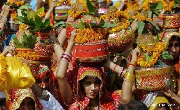 Индийский фестиваль Дурга Пуджа