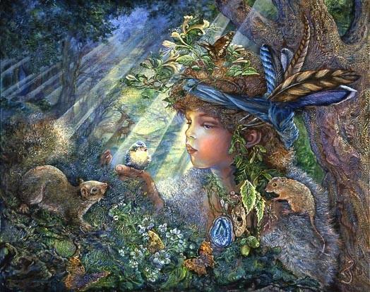 Картины английской художницы Josephine Wall.