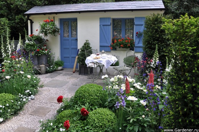 A Touch of France Garden Design in association with Bonne Maman