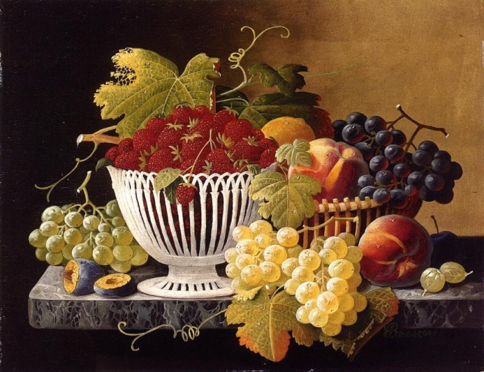 Still Life with Strawberry Basket.