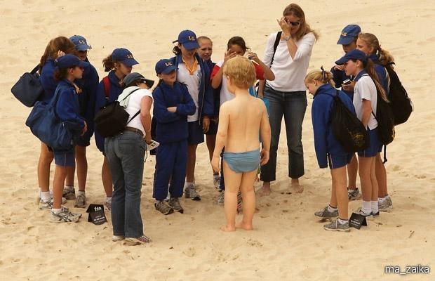 Скульптуры у моря, Бонди, Австралия.