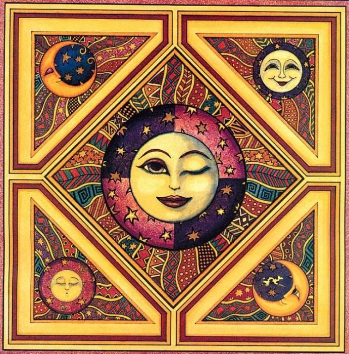 Дэн Моррис: лунно-солнечное творчество.