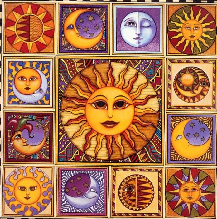 Поэтому главные их праздники посвящались свету, солнцу, возрождению природы.  Солнечный календарь друидов/волхвов...