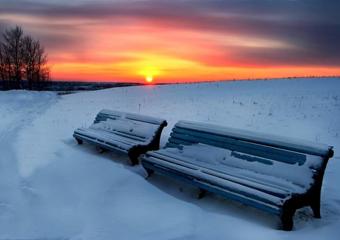 Зимние пейзажи фотоподборка часть 1