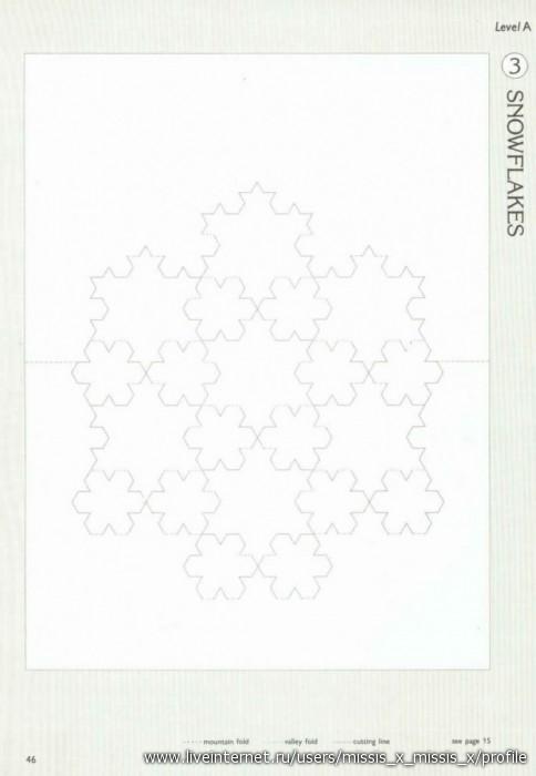 открытки-киригами - схемы.