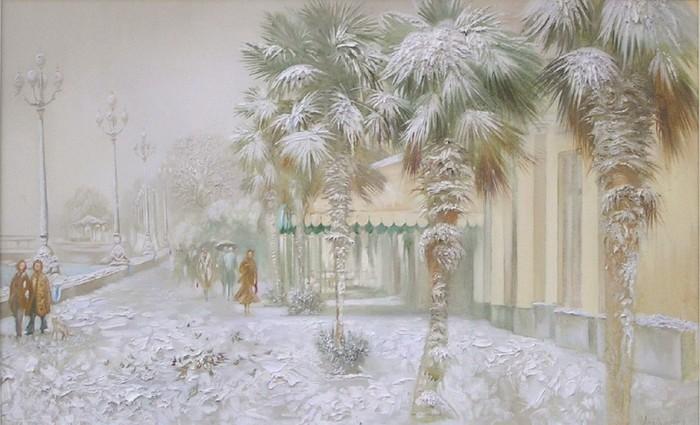 Пальмы в снегу - Исайченко Оксана Викторовна