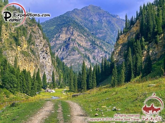 Горы Кыргызстана 38522