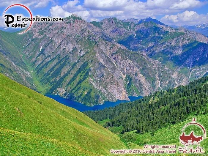 Горы Кыргызстана 17118