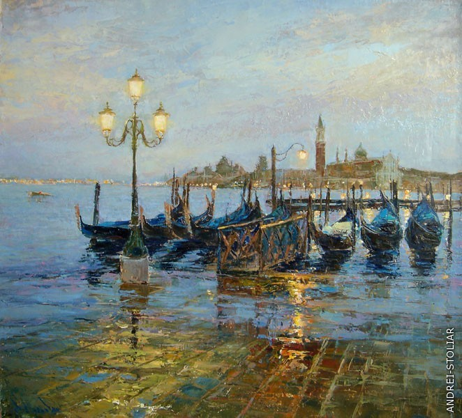 Венеция. Голубые сумерки