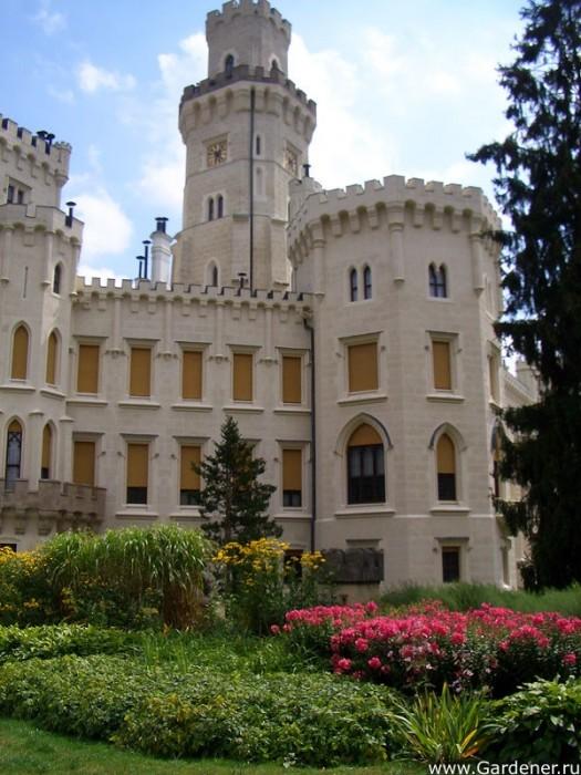 Замок Глубока над Влтавой (The Hluboka Castle) 20123