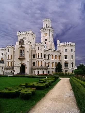 Замок Глубока над Влтавой (The Hluboka Castle) 74621