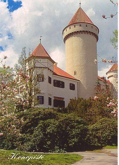 ЧЕХИЯ: Замок Конопиште 46923