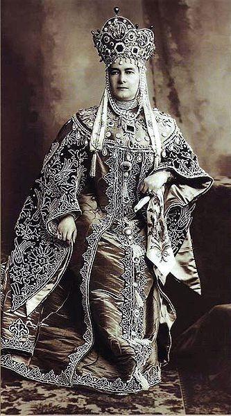 Вел. кн. Мария Павловна, герцогиня Мекленбург-Шверинская