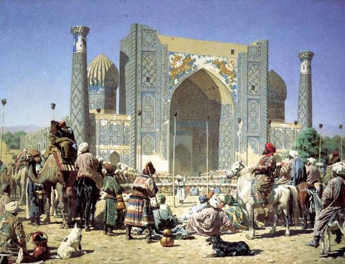 Регистан, Самарканд 72781