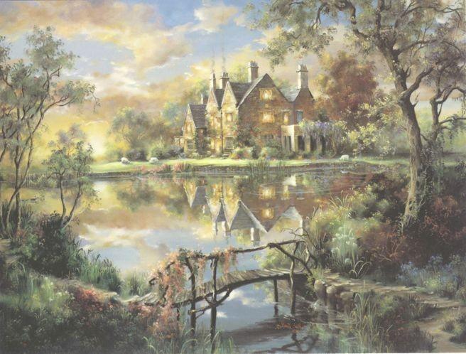 Mill Hay Manor (656x498) - Marty Bell.  Просмотров: 25. www.ArtScroll.RU - Cвитки искусства.