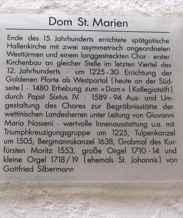 Dom St. Marien zu Freiberg/Sachsen 85866