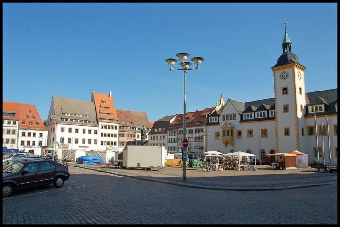 Фраиберг-город в Саксонии 56527
