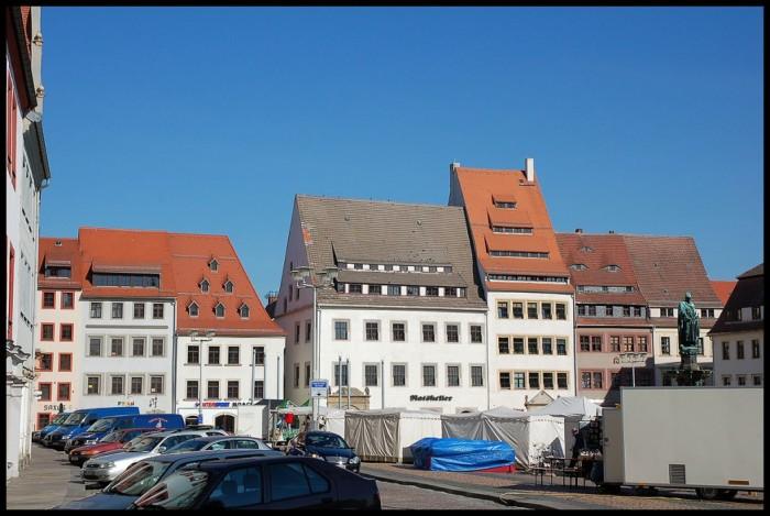 Фраиберг-город в Саксонии 38913