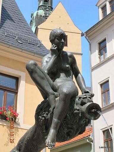 Фраиберг-город в Саксонии 87242
