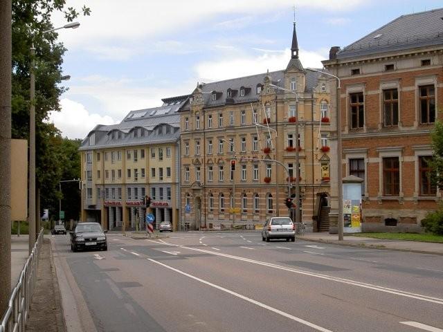 Фраиберг-город в Саксонии 16112