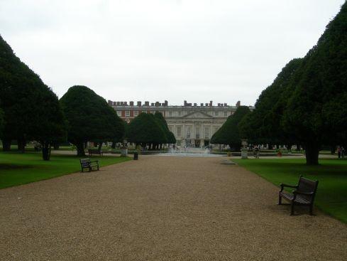 Сад дворца Хэмптон-Кор 11066