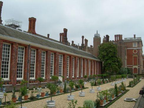 Сад дворца Хэмптон-Кор 95311