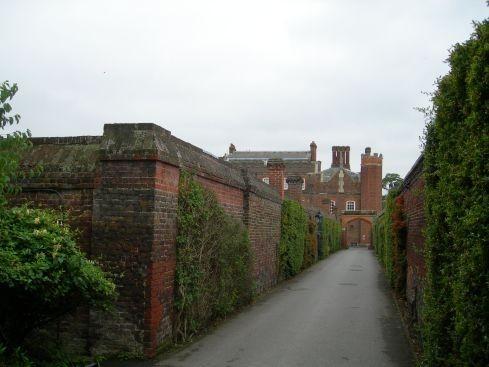 Сад дворца Хэмптон-Кор 74815