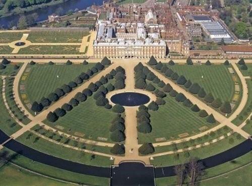 Сад дворца Хэмптон-Кор 67014