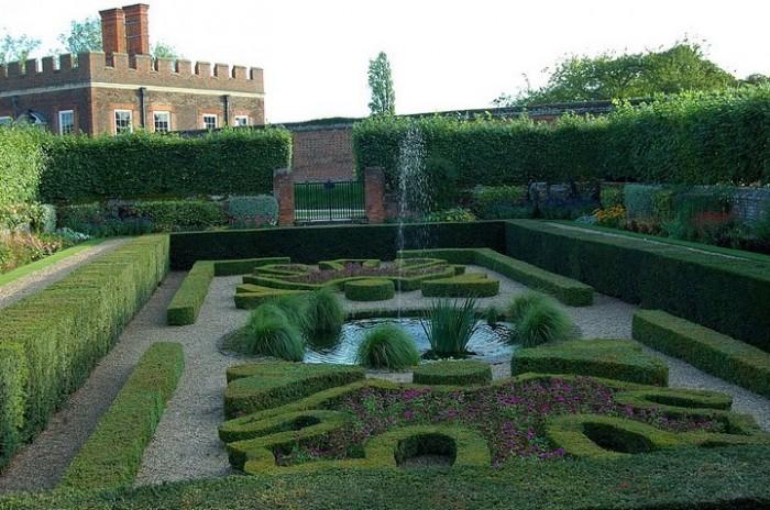 Сад дворца Хэмптон-Кор 13563