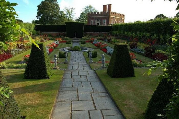 Сад дворца Хэмптон-Кор 26539