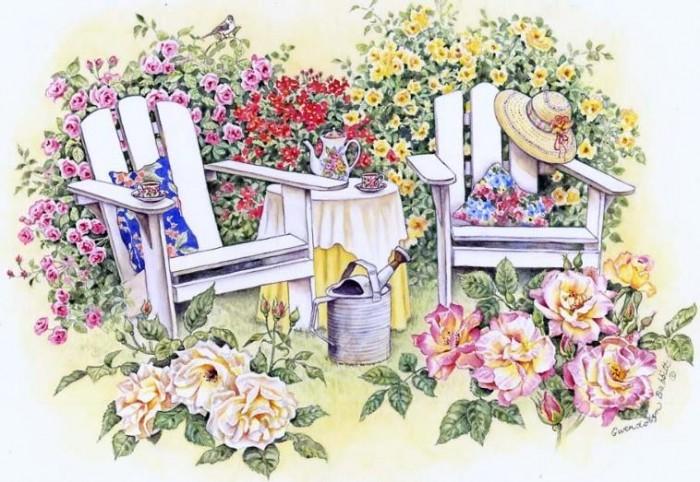 Adirondack Rose Garden