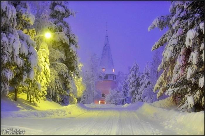 зимние фото городов мира - Города мира.