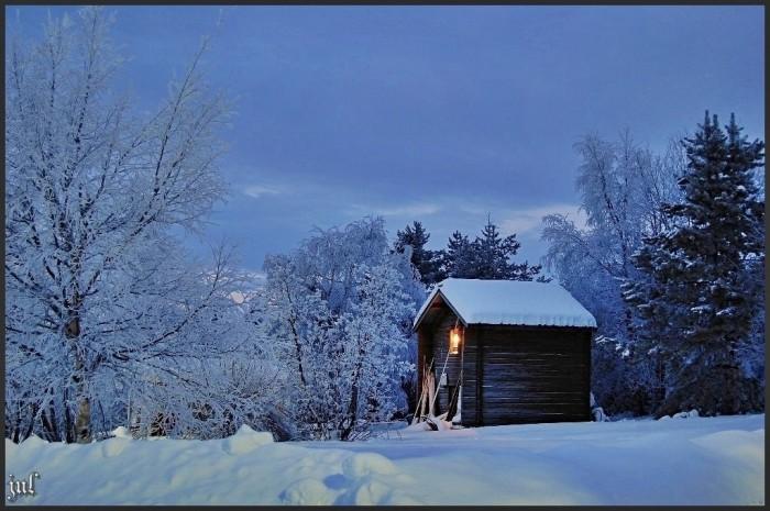 Обычное зимнее утро