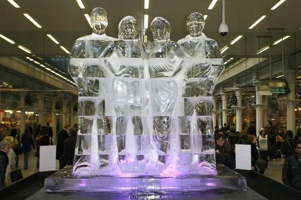 Снежная и ледяная скульптуры 2009.