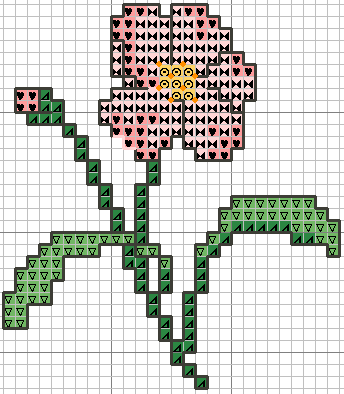 """Понравилось.  Схемы вышивки крестиком  """"Цветы """". маленькие.  Открытки с вышивкой.  43 раз. вышивка. в цитатник."""