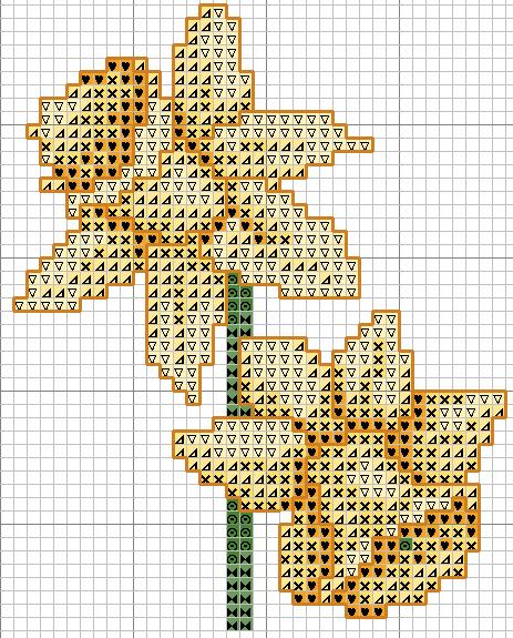 схемы для вышивки крестом 50 на 50 крестиков примерно, ключа нет, но схемы и так простые.