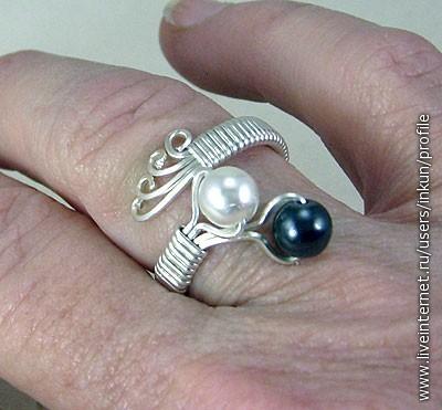 Фото кольца своими руками