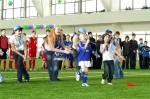 Выступление шоу-группы «Саманта» на Играх межрегионального турнира Чемпионата по Санкт-Петербургу