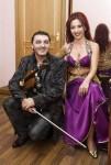 Тигран Петросян и Звезда восточного танца Амани