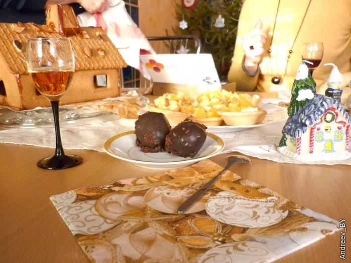 8 января гостевой обед с друзьями