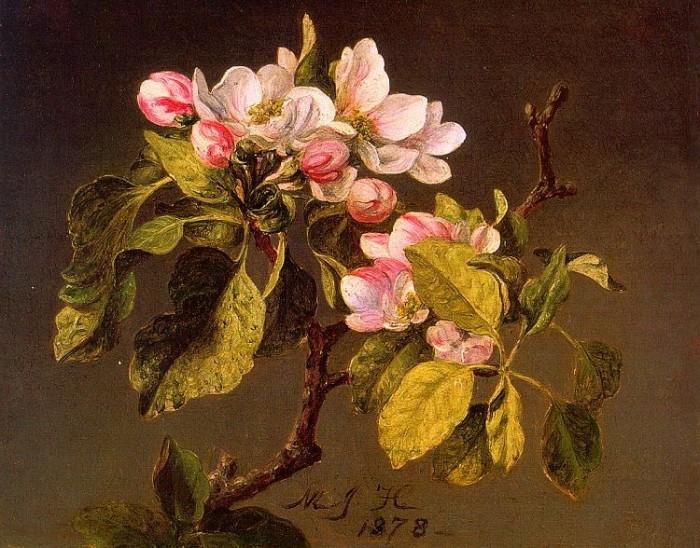 Цветущая яблоня, 1878