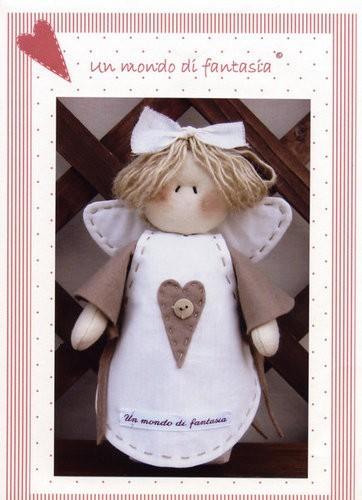 Ангелы - Тильды и другие примитивы. 1873430_angelo