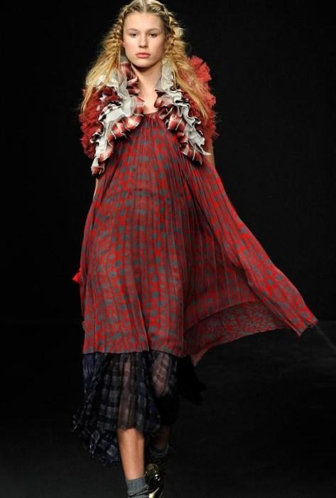 Одежда в стиле этно почти всегда воспринимается как экстравагантная...